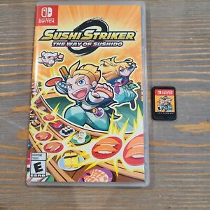 Nintendo-Switch-Sushi-Striker-The-Way-of-Sushido-Video-Game-2018-Puzzle