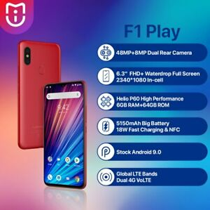 UMIDIGI F1 Play Smartphone 6.3'' 6GB+64GB Mobile Phone Global Unlocked 5150mAh