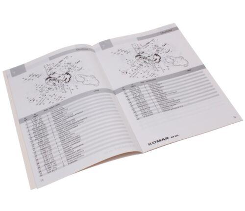 sainchargny.com Ersatzteilekatalog Buch Katalog ROMET KOMAR MR 232 ...