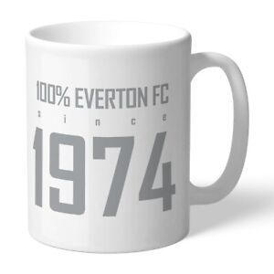 Everton F.c - Personalised Ceramic Mug (100%)