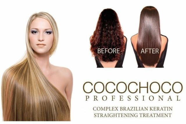 COCOCHOCO GOLD BRAZILIAN KERATIN TREATMENT BLOW DRY HAIR STRAIGHTENING 100ML KIT