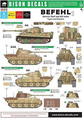 10 Abziehbild Decal für 1//35 WWII German Tank Modell Number Decals 63365 Neu 7