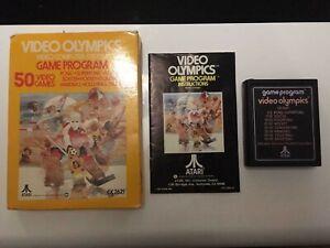 Video-Olympics-BOXED-Atari-2600-GOOD-CONDITION