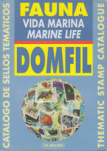 Domfil-MARINE-LIFE-Stamp-Fish-Thematic-Catalogue-24th-Edition-NEW