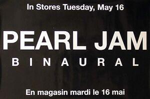 Pearl-Jam-2000-Binaural-Original-Black-Promo-Poster
