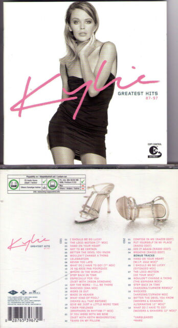 DOUBLE CD 34T KYLIE MINOGUE GREATEST HITS 87-97 BEST OF 2003