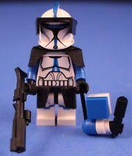 LEGO® STAR WARS™ Custom Phase 1 501st LEGION CLONE TROOPER minifigure + Blasters