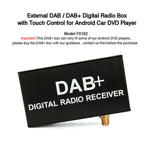 Externe-DAB-Box-fuer-Pumpkin-Digital-Autoradio-Android-Car-DVD-Player-GPS-Navi