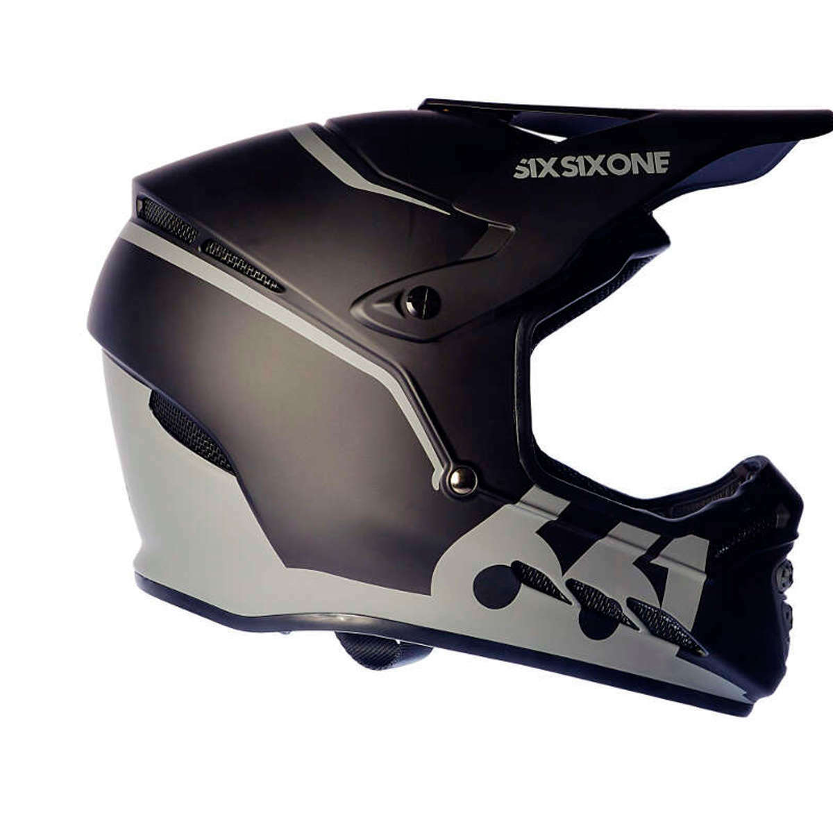 SixSixOne downhill-MTB casco Reset midnight negro