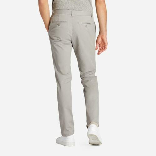 Size 33 X 32 NWOT Grey Dogs Tailored Fit Stretch Washed Chinos from Bonobos