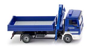 Wiking-069319-THW-camion-de-bataille-avec-Grue-chargement-MAN-TGL-1-87-H0