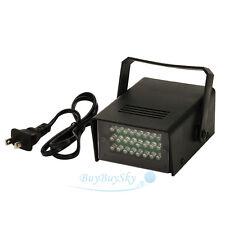 24 LED Mini DJ Strobe Light Flash Light Club Stage Lighting Party Disco Bulb New