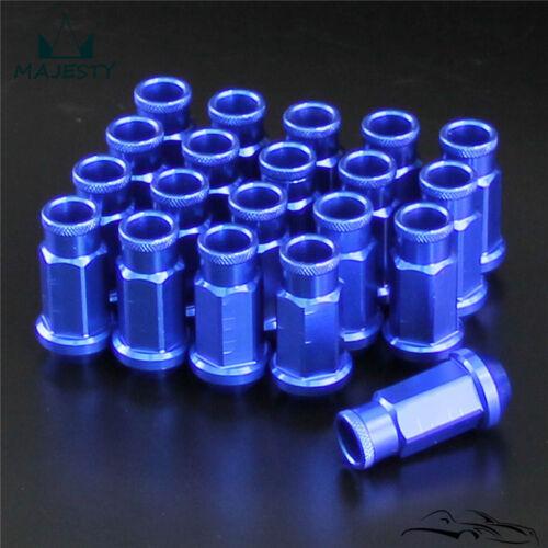 20pcs  M12 x 1.25 Racing Lug Wheel Nuts Screw For Nissan Subaru Suzuki BL