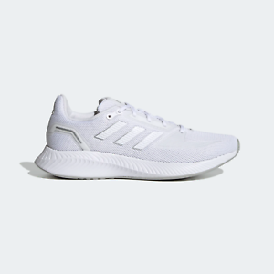 adidas womens run falcon 20 casual athletic shoes white