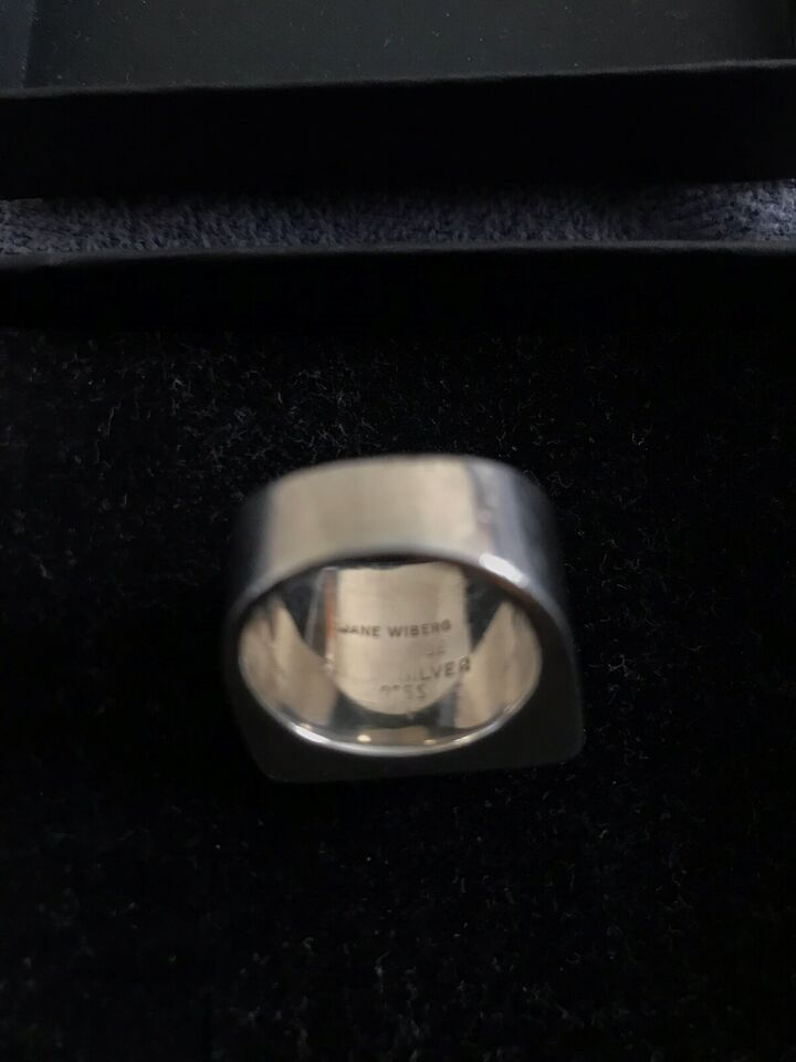 Ring, sølv, Jane wiberg