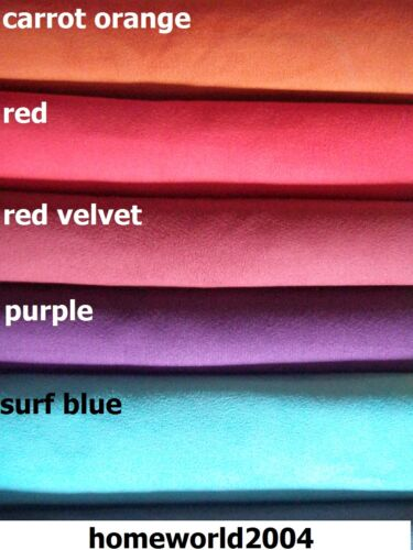 car FAUX SUEDE UPHOLSTERY backed fabric for home van and campers