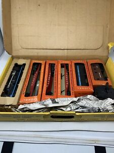 LIONEL-POSTWAR-1613S-6-PIECE-B-amp-O-STEAM-FREIGHT-SET-NO-TRACK-247-Baltimore-1959
