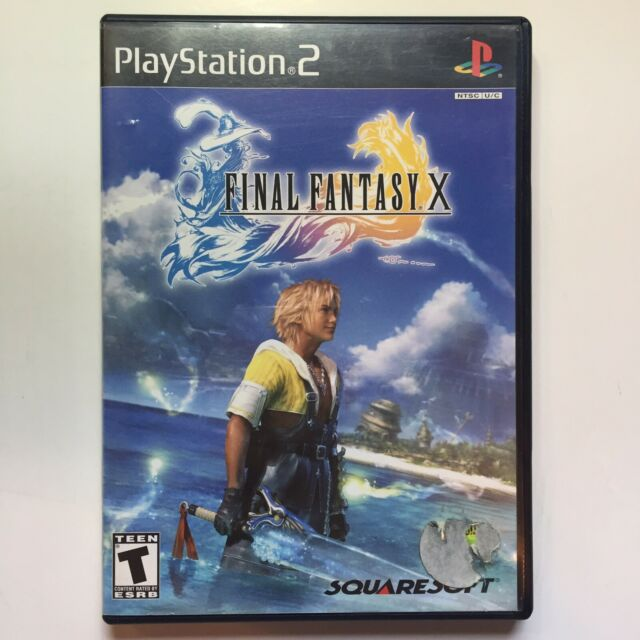 Final Fantasy X PS2 Sony PlayStation 2 RPG Video Game Complete & Tested