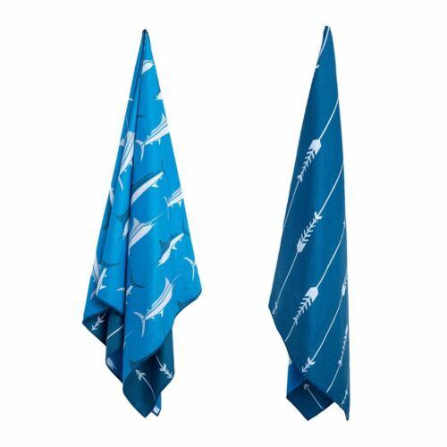 Blue Marlin Sand Free Beach Towel