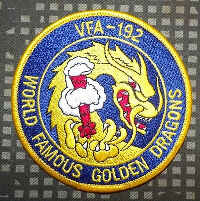 US Navy VFA-192 Patch World Famous Golden Dragons