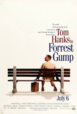 Forrest Gump Classic Movie Large Poster Art Print Gift A0 A1 A2 A3 A4 A5 Maxi