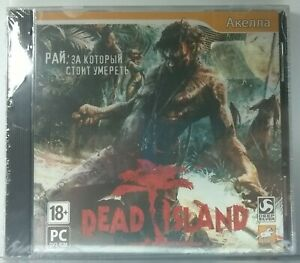 Dead Island NEW and Sealed Jewel Case Video Games For PC DVD