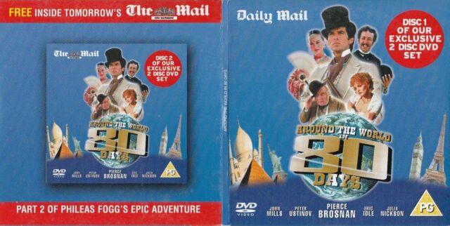 AROUND THE WORLD IN 80 DAYS ( UK Promo Doppel DVD ) Pierce Brosnan, Eric Idle
