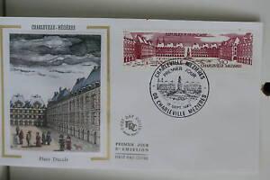 ENVELOPPE-PREMIER-JOUR-SOIE-1983-CHARLEVILLE-MEZIERES