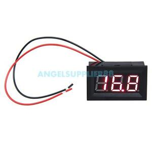 A-S0-0-56inch-LCD-DC-3-2-30V-Red-LED-Panel-Meter-Digital-Voltmeter-with-Two-wire