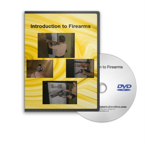 Introduction to Firearms: Safety And Shooting Training for Revolvers DVD - C85