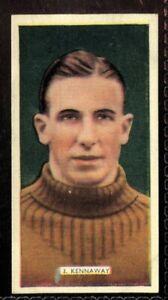 Tobacco-Card-Carreras-POPULAR-FOOTBALLERS-1936-J-Kennaway-Celtic-8