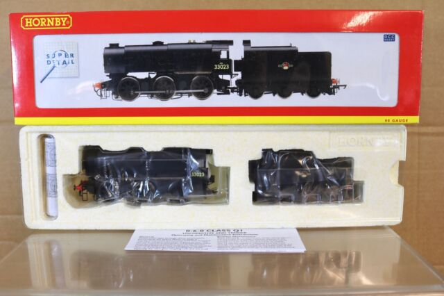 HORNBY R2537 DCC READY BR BLACK 0-6-0 CLASS Q1 LOCOMOTIVE 33023 MINT BOXED nq