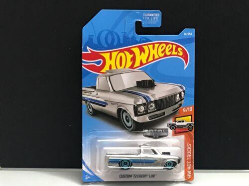 USA Long Card 2019 Hot Wheels Zamac /> Custom /'72 Chevy LUV Truck