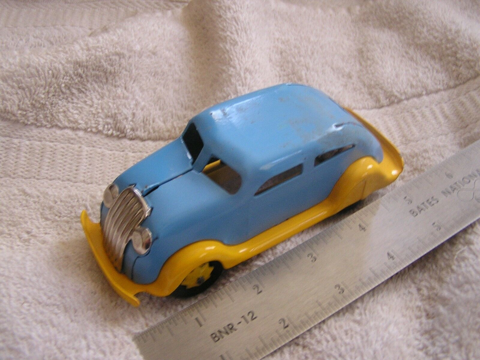 1930's  Chrysler Airflow Metal Toy Car