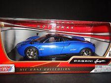 Motormax Pagani Huayra Blue 1/24