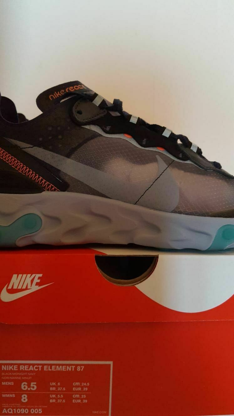 Nike 87, 39 maat Element React 9cea1nebw6419 Trainer