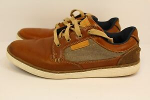 b4856dbbb38e Men s Skechers Lanson Reldon Light Tan 64921 LTTN Memory Foam Sz 8.5 ...