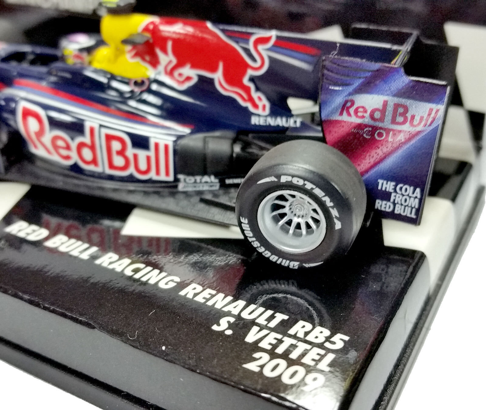 envío gratis Minichamps 1 43 43 43 2009 rojo Bull F1 Racing Renault Rb5 Sebastien Vettel 400090015  deportes calientes