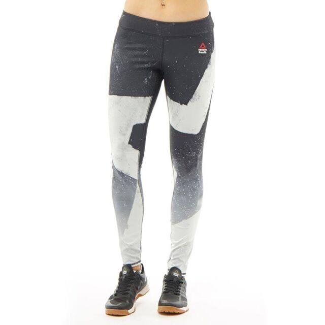 Reebok CrossFit Reversible Chalk Chase Women's Leggings Black