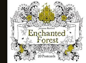 Enchanted-Forest-20-Postcards-by-Johanna-Basford-NEW-Book-FREE-amp-FAST-Deliver