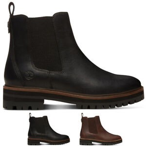 Details about Womens Timberland London Square Chelsea Hiker Leather Winter Ankle Boot US 5 11