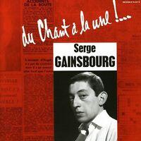 Serge Gainsbourg - Chant A La Une [new Cd] on sale