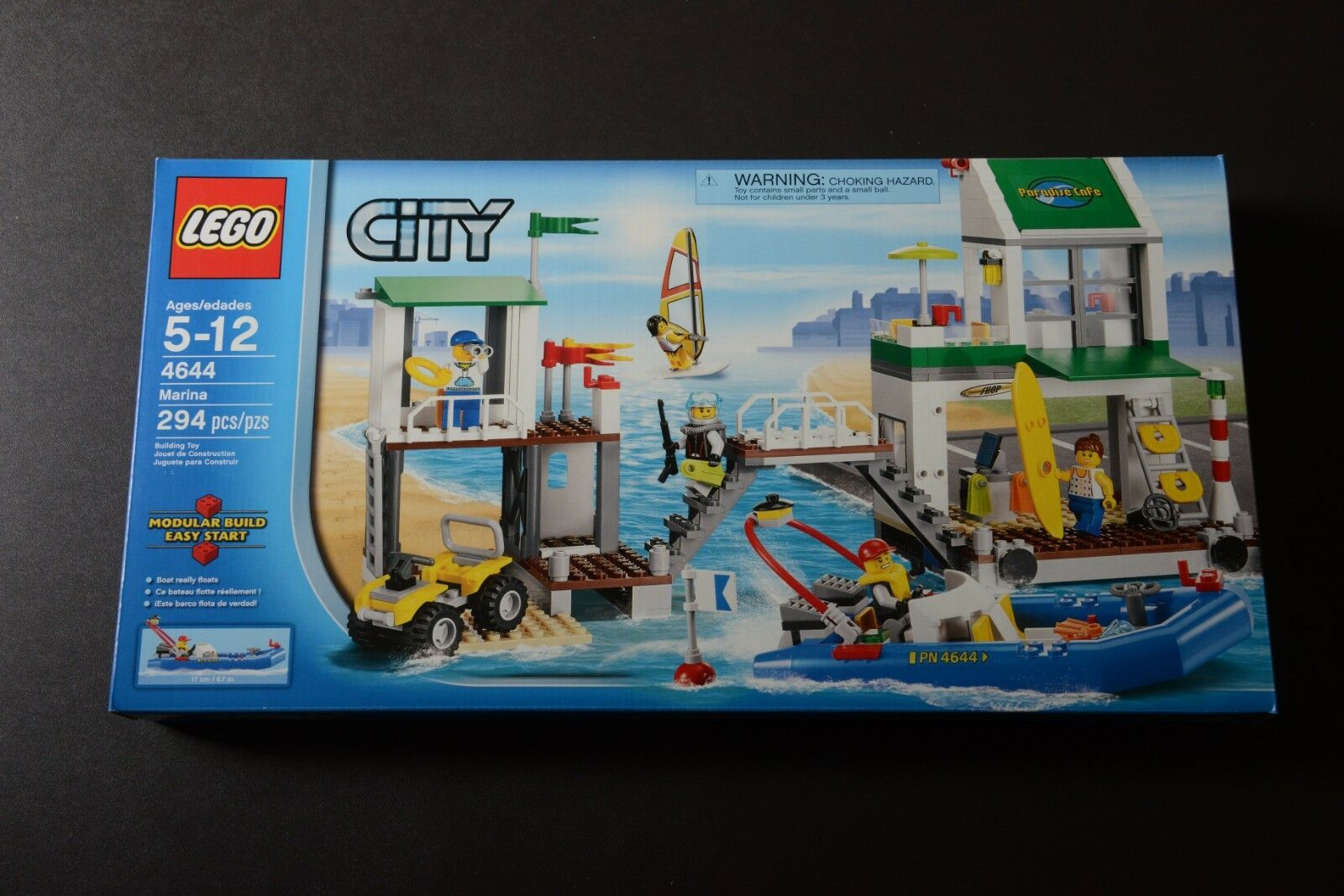 Lego City Marina 4644 Brand New Retired