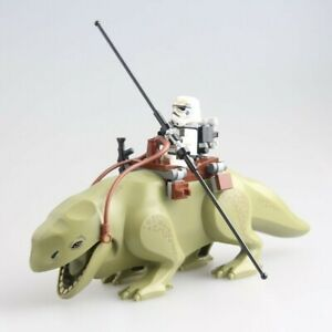 STAR-WARS-DEWBACK-Monster-amp-Free-Mini-Figure-Fit-LEGO-Han-Solo-Luke-Skywalker
