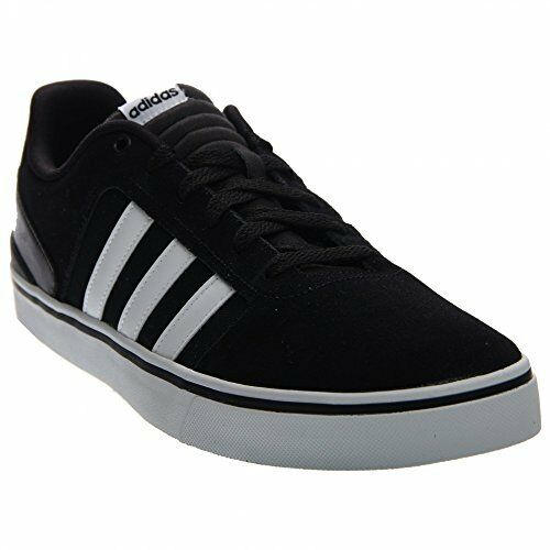 Men's Adidas Neo Hawthorn ST Suede 100% Original F98986 Color noir / blanc New