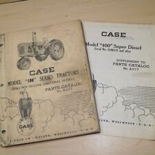 Case Model 400 Series Tractor Parts Manual Book Catalog List Spare Vintage Farm