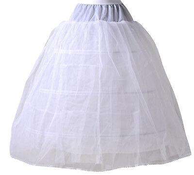 Braut-accessoires Billiger Preis Hbh Brautmode Reifrock Mit 3 Ringen/2 Tüll,umfang Ca.275cm Mit Elastischen Bund