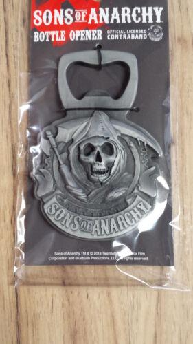 Söhne von Anarchy Samcro Reaper 3D Magnetisch Metall Flasche Öffner