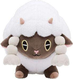 Pokemon-Center-Original-Wooloo-Cushion-Plush-Mocchiri-Manmaru-Size-EMS