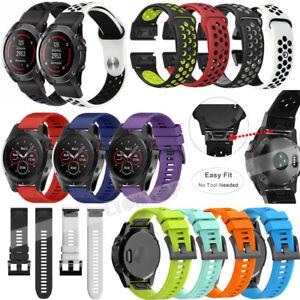 e3e7a5d3c5a Details about For Garmin Fenix 3 5 5X Plus  5S   Forerunne 935 Quick  Silicone Wrist Band Strap